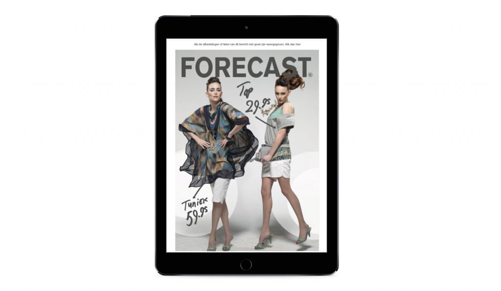 FORECAST – Mailing campagne