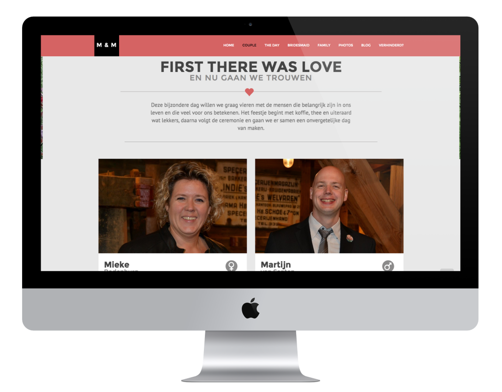 Mieke & Martijn trouwen