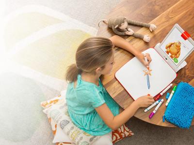 Interactieve spelmaterialen helpen kinderen in het basisonderwijs.