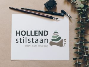 Krachtig Logo ontwerp voor Hollend Stilstaan