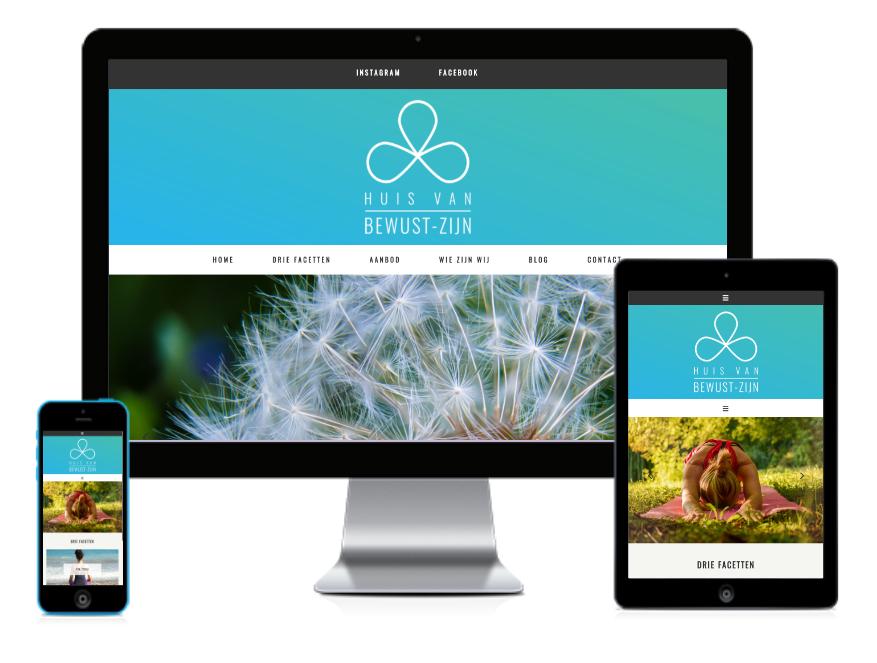 Huis van Bewust-Zijn Website