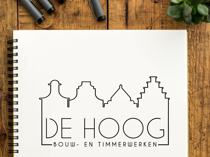 Logo De Hoog Bouw- en Timmerwerken