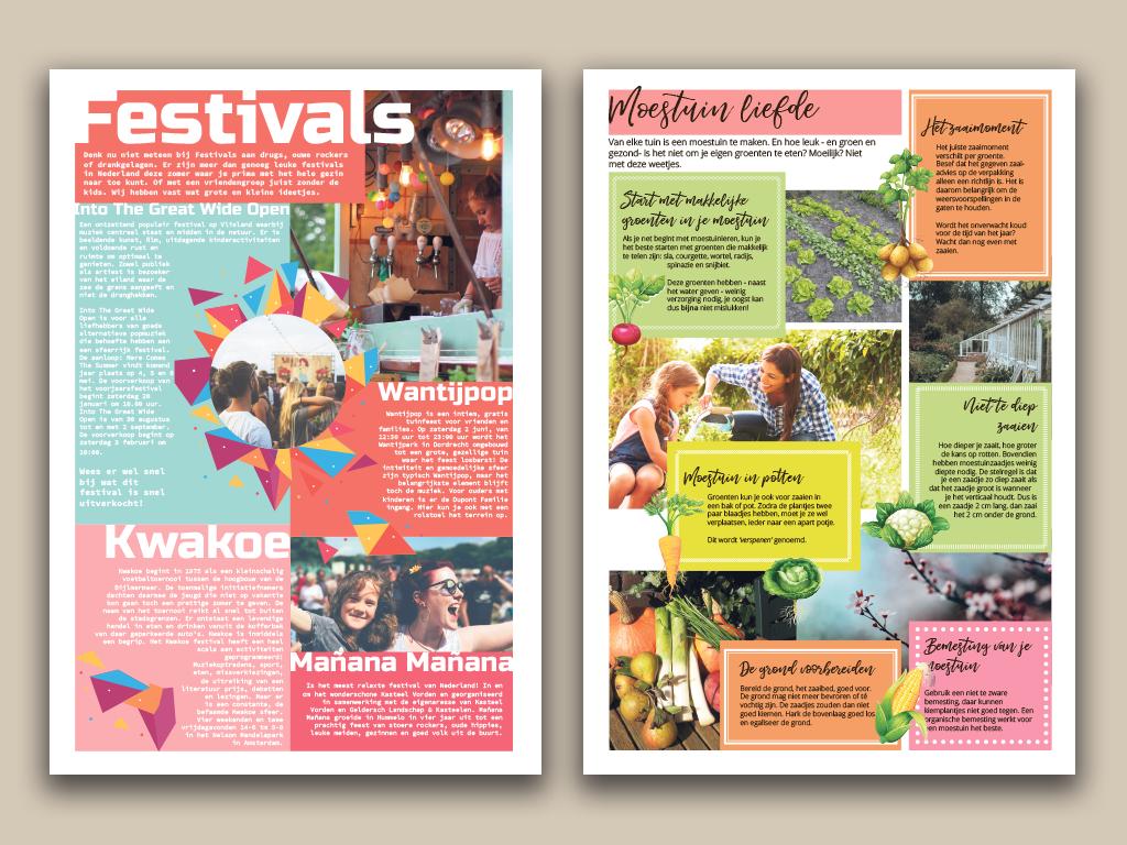 Festivals en Moestuin Liefde