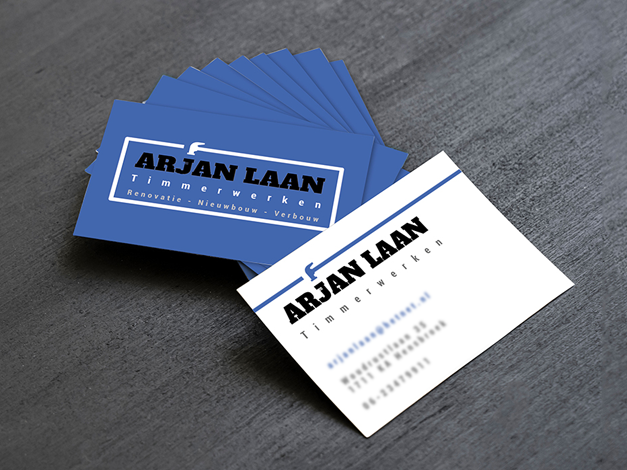 Logo en Visitekaartjes Arjan Laan